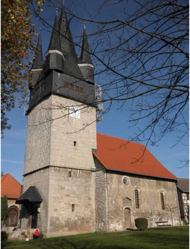 Kirche vor der Restaurierung