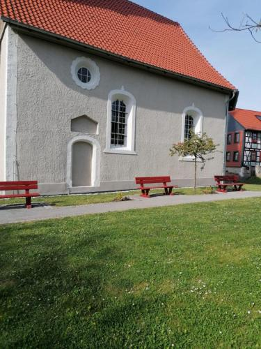 Kirchenschiff nach Restaurierung