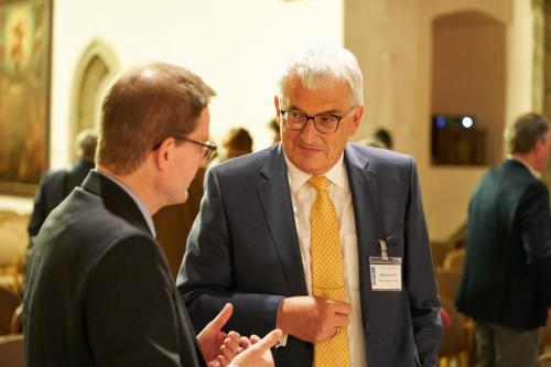 Dr. Johannes Bruns, Oberbürgermeister Mühlhausen, Andreas Lesser, Stiftungsvorstand Lesser-Stiftung