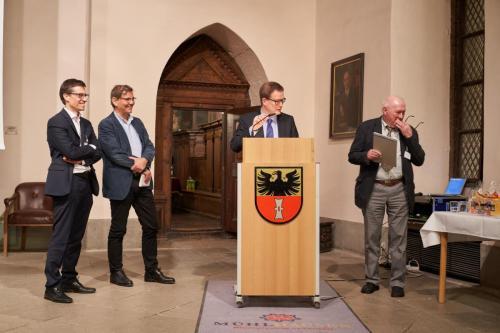 Reichsstadttagung Abendvortrag Mühlhäuser Rathaushalle