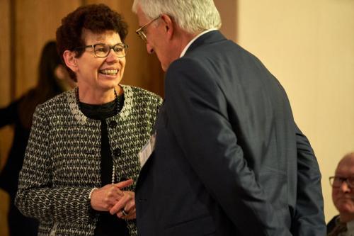 Bürgermeisterin Mühlhausen Beate Sill, Andreas Lesser
