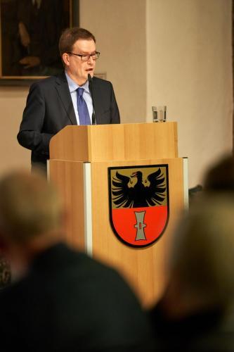 Dr. Johannes Bruns, Oberbürgermeister Mühlhausen