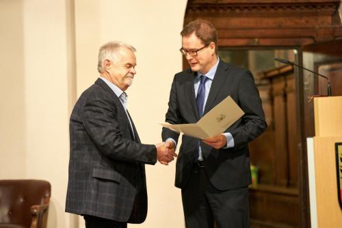Martin Sünder, Mühlhausen und Dr. Johannes Bruns, Oberbürgermeister Mühlhausen